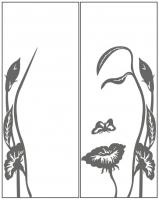 Пескоструйный рисунок люди  №257