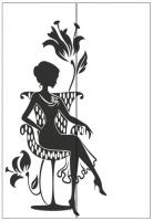Пескоструйный рисунок люди  №259