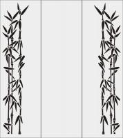 Бамбук в векторе №26