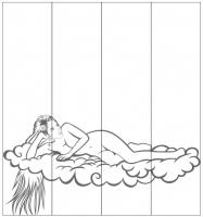 Пескоструйный рисунок люди  №264