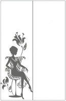 Пескоструйный рисунок люди  №268