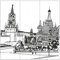 Пескоструйный рисунок Архитектура №271