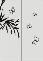 Шаблон бабочки №27