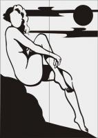 Пескоструйный рисунок люди  №286