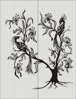 Птицы на дереве №29