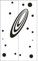 Пескоструйные рисунки Космос №29