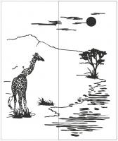 Пескоструйный рисунок №296