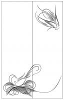 Пескоструйный рисунок птицы №398