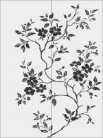 Цветы на дереве №30
