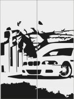 BMW в городе 3