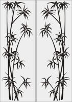 Бамбук в векторе №31