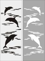 Дельфины на море №31