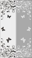 Шаблон бабочки №31