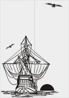 Шаблон Корабль №3