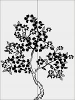 Дерево в цветах 32