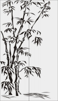 Бамбук в векторе №3