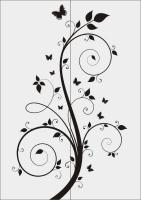 Шаблон бабочки №34