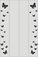 Шаблон бабочки №35