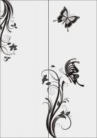 Шаблон бабочки №37