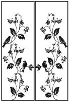 Пескоструйный рисунок птицы №385