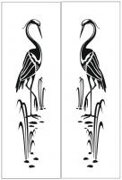 Пескоструйный рисунок птицы №394