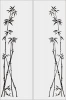 Бамбук в векторе №4