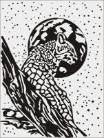 Шаблон Леопарт №4