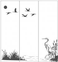 Пескоструйный рисунок птицы №450