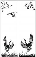 Пескоструйный рисунок птицы №453