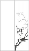 Пескоструйный рисунок птицы №459