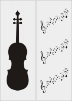 Скрипка в векторе №4