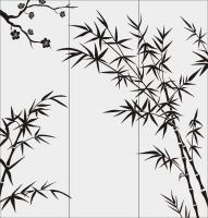 Бамбук в векторе №7