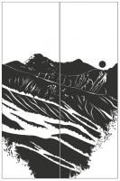 Пескоструйный рисунок Пейзаж №74