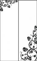 Пескоструйный рисунок уголок 75