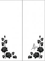 Пескоструйный рисунок уголок 76