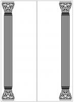 Пескоструйный рисунок Колонны №76