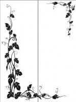 Пескоструйный рисунок уголок 79