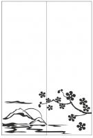 Пескоструйный рисунок Пейзаж №83