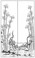 Пескоструйный рисунок Пейзаж №84