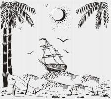 Морскай пейзаж №8