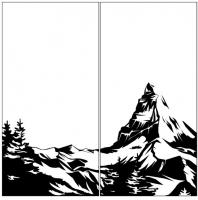 Пескоструйный рисунок Пейзаж №89