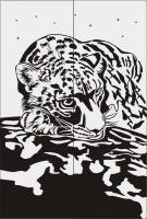 Шаблон леопарт №9