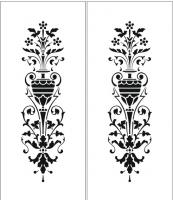 Пескоструйный рисунок ваза 9