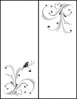 Пескоструйный рисунок бабочки 95