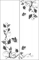 Пескоструйный рисунок бабочки 96