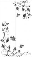 Пескоструйный рисунок бабочки 98