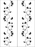 Пескоструйный рисунок бабочки 99